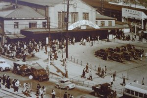 The Sakuragicho Station area, 1904.You can see this photo and others like it on the walls inside Sakuragi-cho station and feel the atmosphere of those days