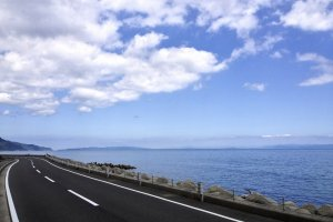 Take a drive along Awaji's scenic coast.