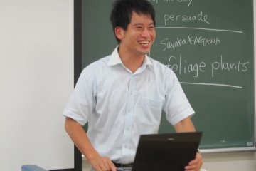 <p>Table Topic Master(impromptu speech session) with broad smile</p>