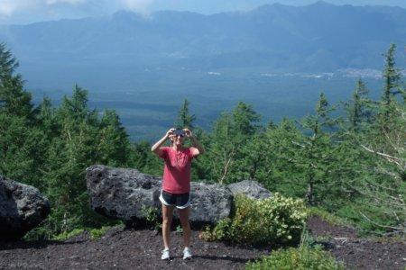 Climbing Fuji: Yoshida Trail