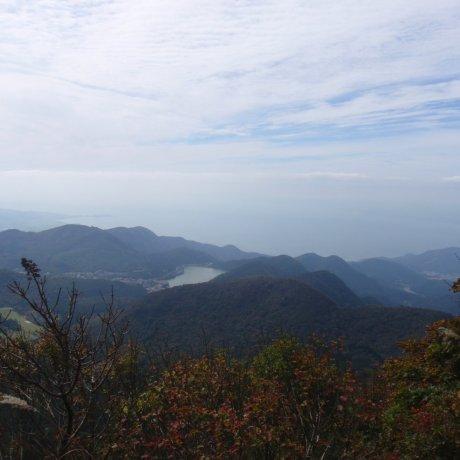 운젠 산에 오르다