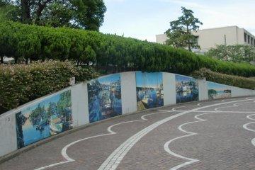 Стенная роспись Хидэто Судзуки