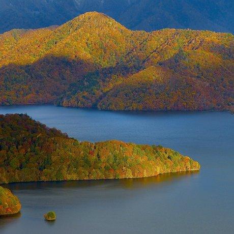 Nikko Chuzen-ji Lake in Autumn