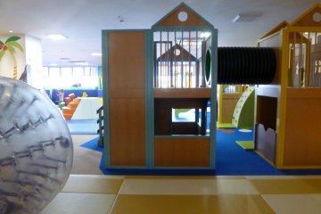 The 'Mew Mew' children's play area