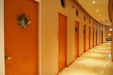 Treatment at La Terra SPA is carried out using wine ingredients.