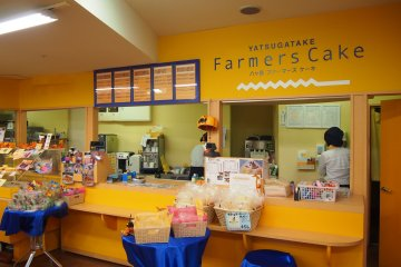 Farmers Cake on the Piment Street. All the ingredients of the cheesecake and confectionary products are seasonal ingredients, freshly produced in the region.