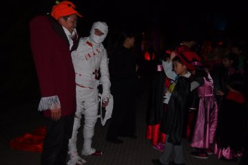 Special events for Halloween catered for the children were also running when I was there.