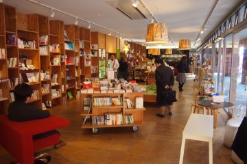Books & Cafe, a great place to camp at with a coffee or a cake. Wifi is available here.