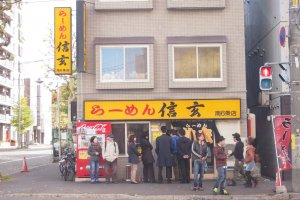 Be prepared to queue for Shingen Ramen. It's a favourite among locals and tourists alike.