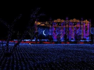 Moonlight at the Art Garden