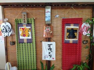 Cách trang trí Okinawan rất đơn giản và đẹp đẽ