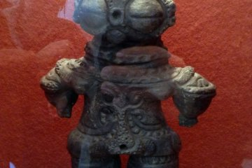 A dogu idol was used as a medium of healing and removing negativity from the body.