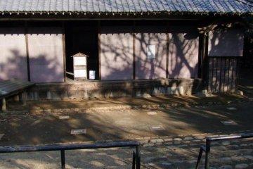 The outdoor Kabuki amphitheater.