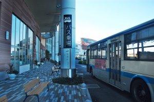 ป้ายรถเมล์ที่ห้างสรรพสินค้า