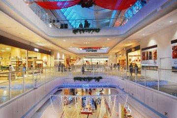 Biggest shopping avenue in Hanyu