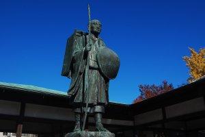 Statue of Kobayashi Shuzo, the 'young teacher'