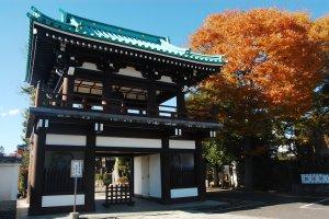 The gate of Kenpukuji