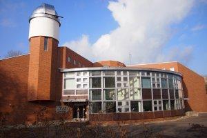 The exterior of the Shiretoko museum.