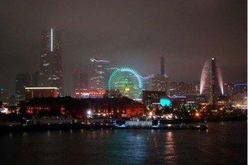 横滨,越夜越美丽