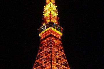 Visiting Tokyo Tower
