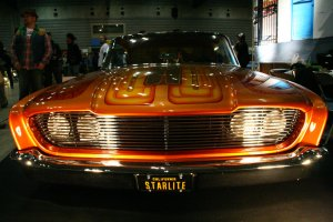 "Stance and style: 1960 Ford Starliner ""Agent Orange"" from Starlite Rod & Kustom, California"