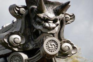 Setoda Roof tile detail