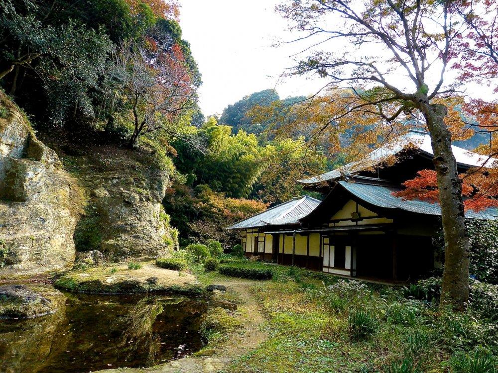 Templo Zuisen-ji e jardim de rochas