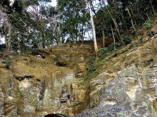 O jardim de rochas mostra a rigorosa e severa face de Muso Soseki