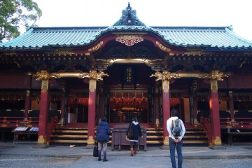 <p>The main temple building where the pious direct their prayers to after dropping a coin.</p>