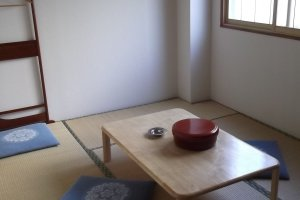 My room without futon
