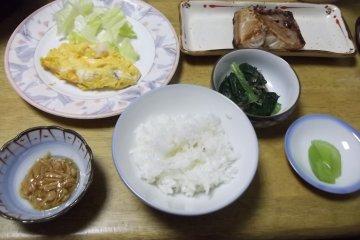 อาหารเช้ามื้อแรกของผม