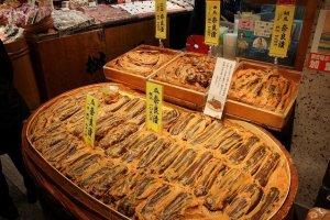 京都で奈良漬けというのも妙な取り合わせなのだが、粕漬けが多種多様に売られている。高価だが美味い