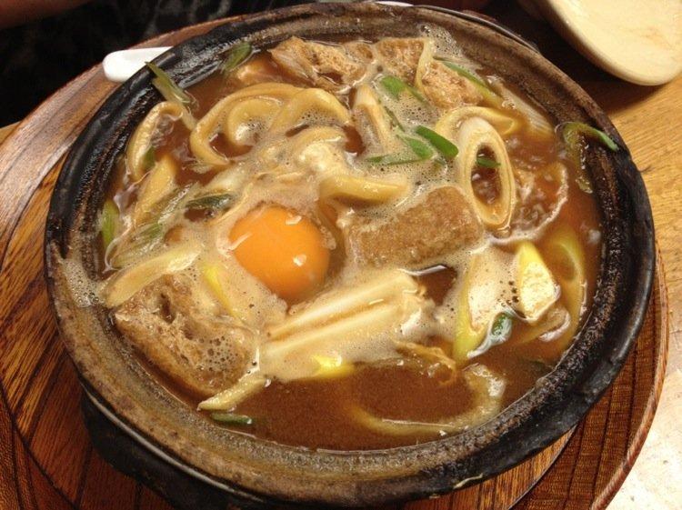 Nagoya's famed Miso Nikomi Udon