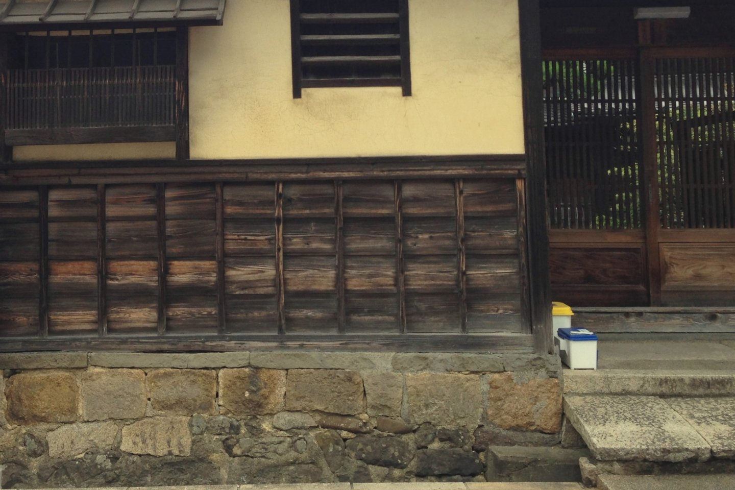 Details from the Sasaki Residence in Kishiwada