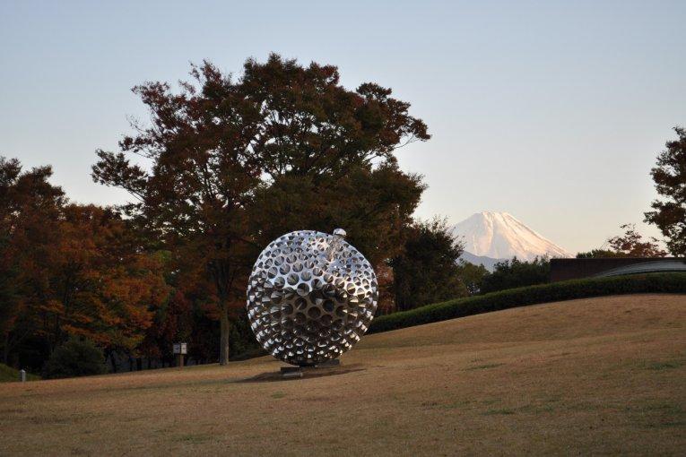 Điêu khắc ngoài trời ở Yamanashi
