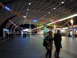 Ga Saitama-Shintoshin, cổng chính để tới Blue Lights Symphony
