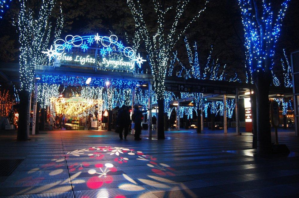 Chào mừng tới Blue Lights Symphony