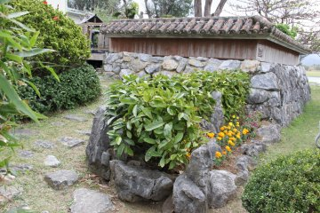 <p>The garden also serves as a short cut for those coming to and from other parts of the Okuma recreation facility</p>