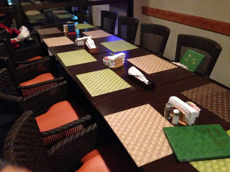 <p>The Okuma Surfside Restaurant offers beachfront dining with famed U.S. Air Force club system hospitality</p>