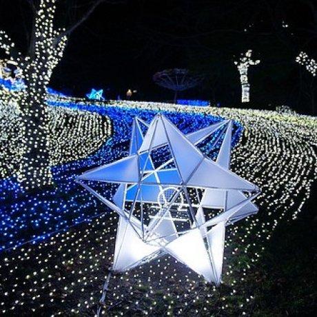 相模湖燈祭-さがみ湖イルミリオン