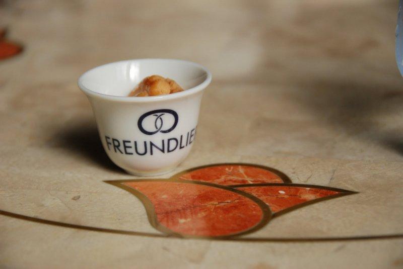 <p>German cookie appetizer at Freundlieb</p>