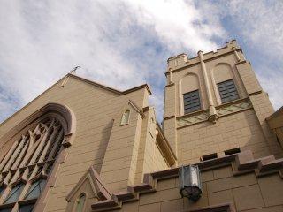 웅장한 교회 건축물