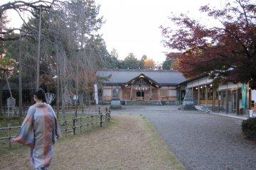 Фукуи: храм Асува на горе Асува