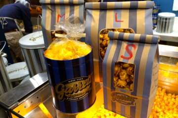 <p>Just a few of the signature products available at Garrett Popcorn Shops in Harajuku</p>