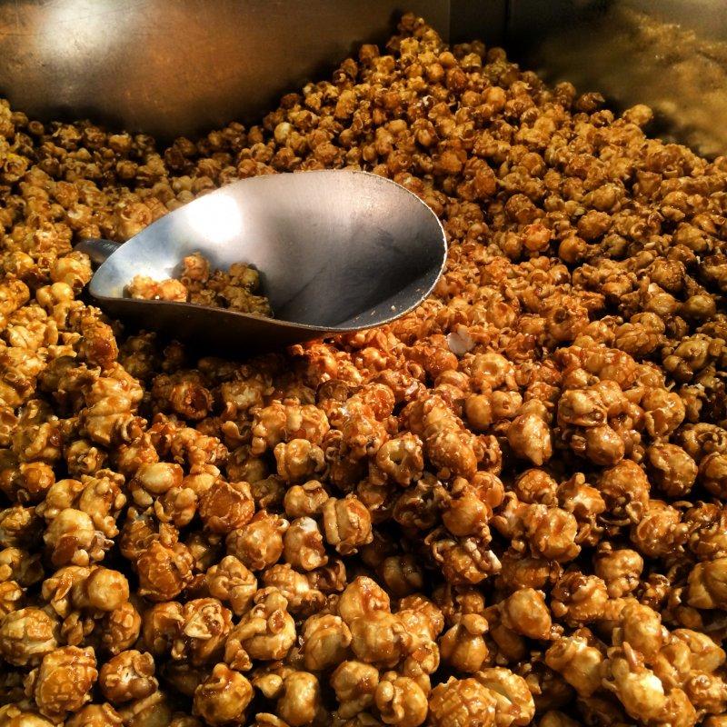 <p>CaramelCrisp, one of the signature flavors at Garrett Popcorn Shops in Harajuku</p>