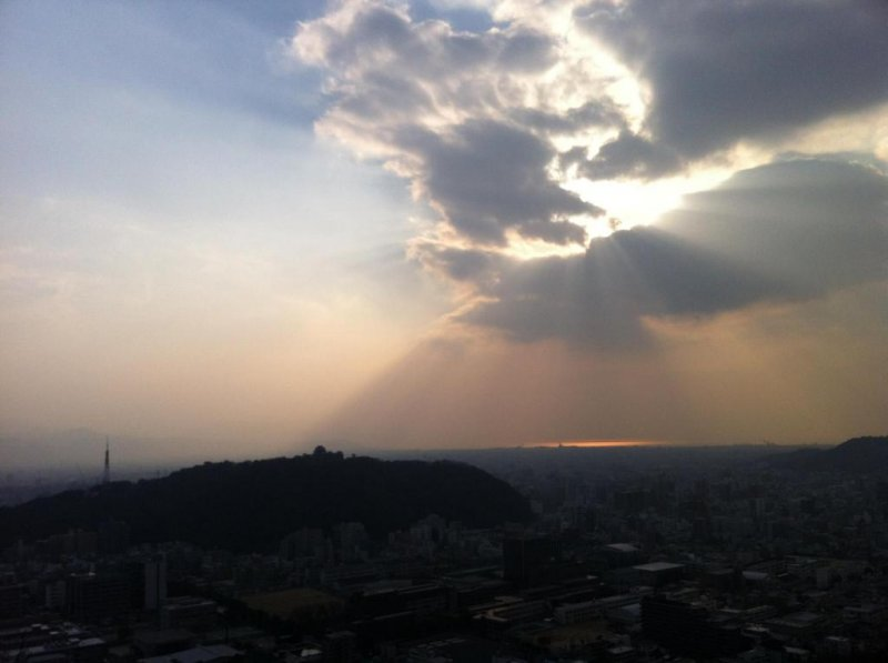A typical view from Miyukiji-san