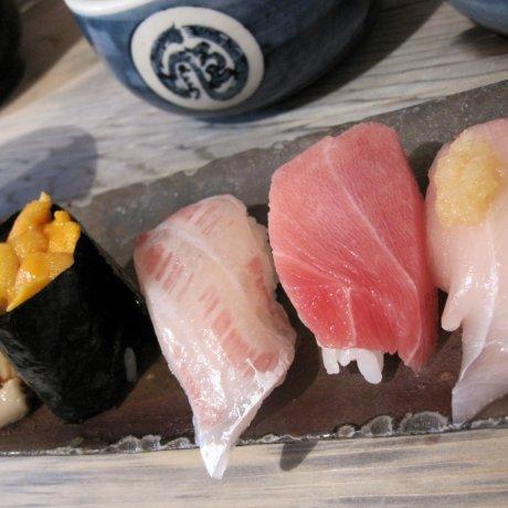 ร้านเอ็นโดะซูชิ(Endo sushi) โอซาก้า