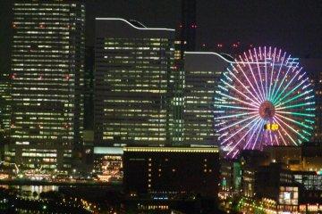 The Minato Mirai skyline can be seen from the balcony!