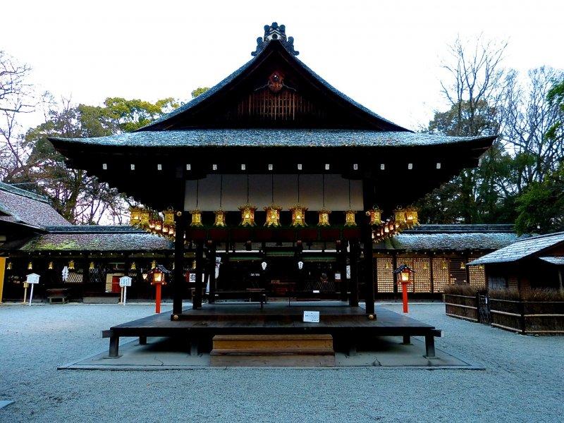 <p>Kawai Jinja Shrine</p>