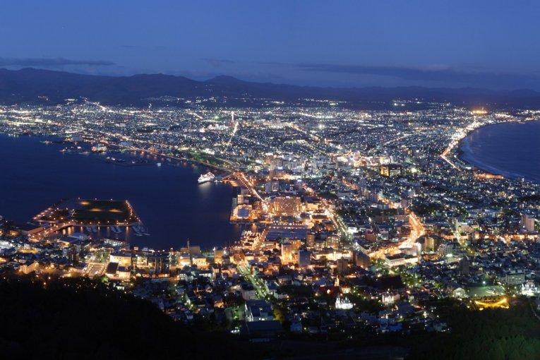 世界三大夜景~函館山夜景